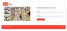 NodeJS, AngularJS and MySQL Project on Retail Store Management System